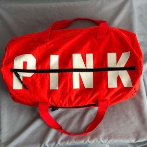 Pink! Victoria Secret Duffle Gym Bag